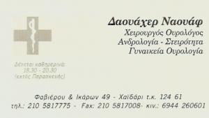 ΟΥΡΟΛΟΓΟΣ ΧΑΪΔΑΡΙ - ΑΝΔΡΟΛΟΓΟΣ ΧΑΪΔΑΡΙ - ΔΑΟΥΑΧΕΡ ΝΑΟΥΑΦ